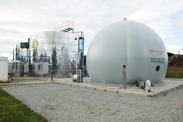 Planta Biogás% Purranque